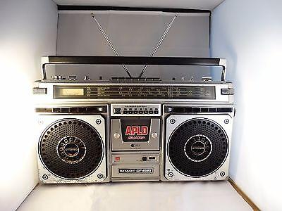 Vintage Sharp GF-8585 Radio Cassette Ghetto Blaster Boombox