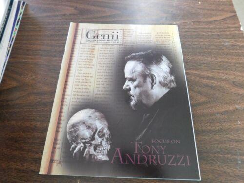 Genii The Conjurors Magic - Magicians Magazine October 7, 2000 Tony Andruzzi