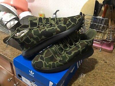 Adidas Originals Tubular Shadow Night Cargo Black Camo Cp8682 Men