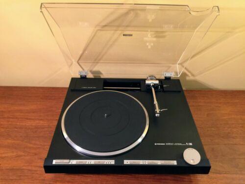 Pioneer PL-L1000 Turntable - Near Mint - Fully Restored - Vintage Audiophile
