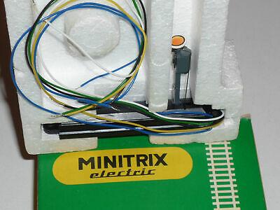 6753 Minitrix Escala N Señal De Blocco Gear Luminoso Eléctrico