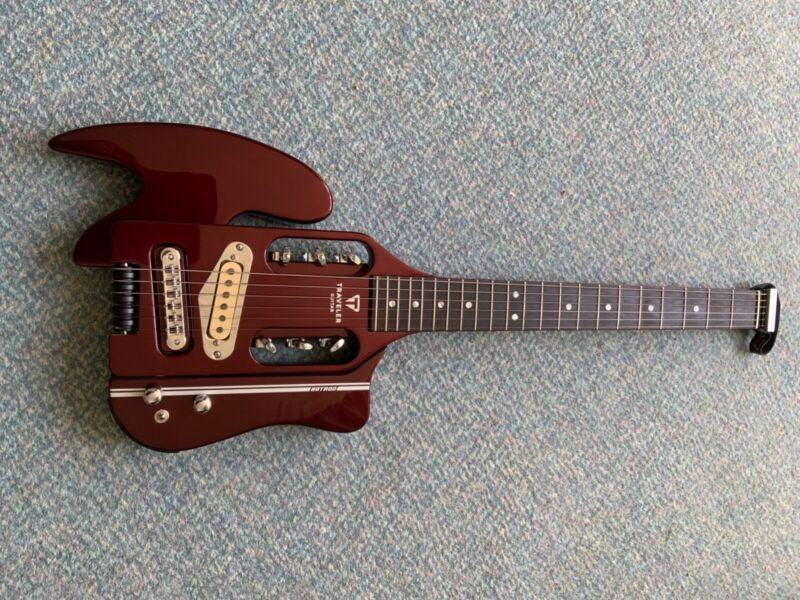 Traveler Guitar - Speedster Hot Rod V2 Red