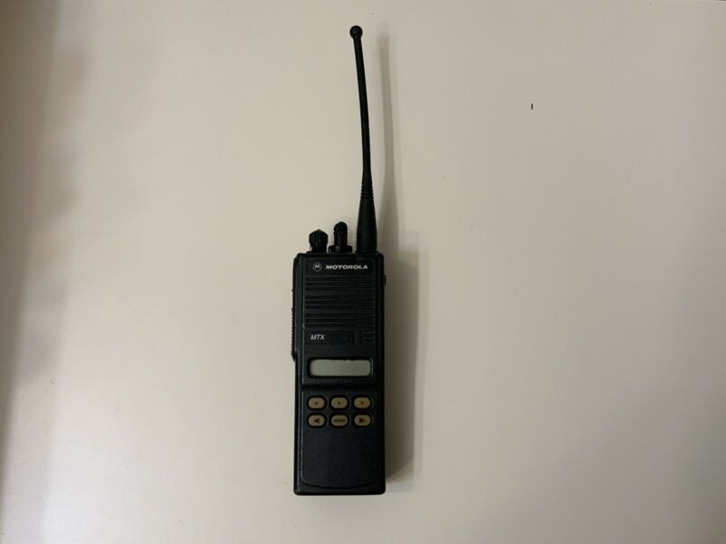 motorola mtx9000  handheld  radio with extra battery, Unprogrammed