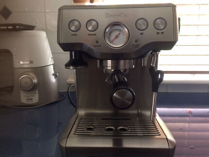Near new Breville the infuser coffee machine