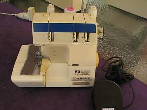 GLOBE 3 spool OVERLOCKER Sewing Machine VG Cond.Serviced & Tested Kotara Newcastle Area Preview