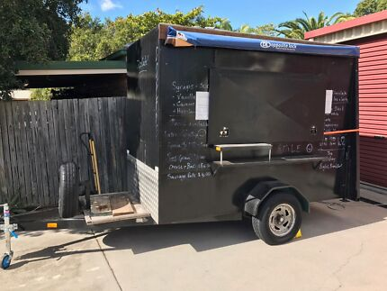 Mobile Coffee Trailer Van Business For Sale