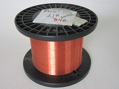 38 Awg 3.40 Lbs. Phelps Snylz155 Single Enamel Coated Copper Magnet Wire