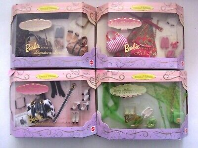 Lot of 4 BARBIE MILLICENT ROBERTS COLLECTION 1997