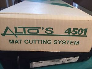 ALTO'S 4501 Mat Cutting System