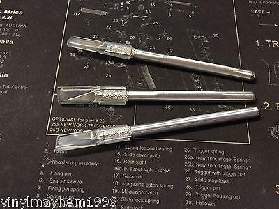 Three 11 Razor Blade Tools Vinyl Graphics Stickers Hobby Knife Signs Wrap Xacto