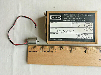 Portescap Escap 15 Miniature 050 010 Drone Robotics Motor 1.5vdc 17ma