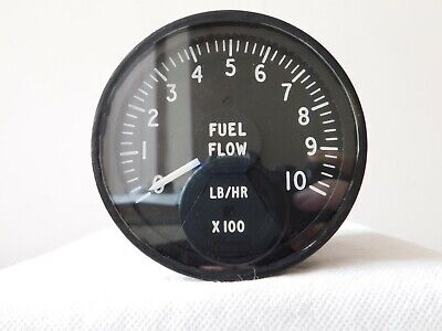 Wessex Helicopter Fuel Flow Gauge Type No: 7802-22000 [2R5A]