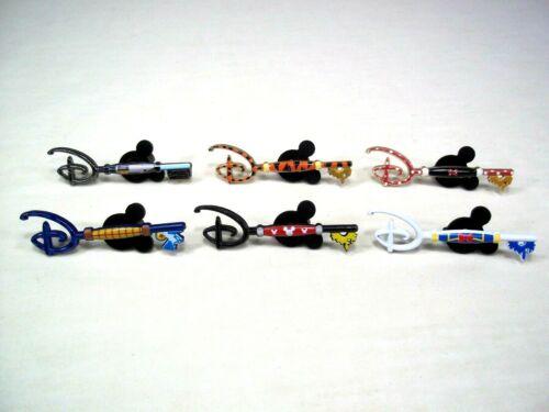 Disney Store Mystery Blind Box Key Pin Complete Set of 6 Star Wars Tigger Mickey