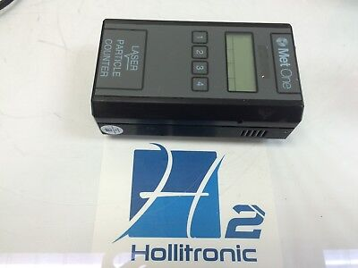 Met One 227b Laser Handheld Air Particle Counter As-is Not Tested