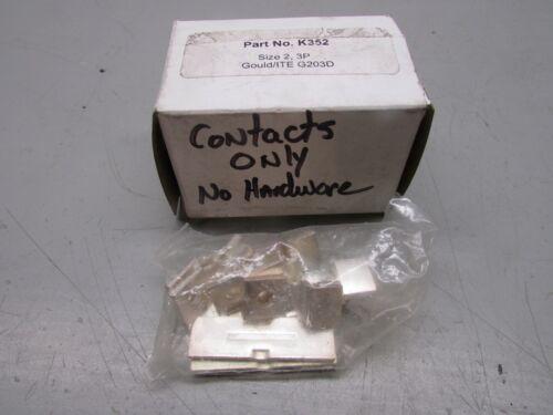 PCS K352 Size 2 Gould/ITE G203D Contact Kit