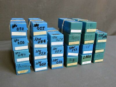 Lot Of 22 Deltronic Plug And Pin Gage Set 0.09 To 0.2830