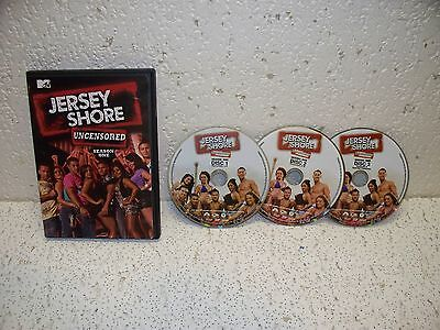 Jersey Shore Season One Uncensored DVD  ( 1 First ) MTV