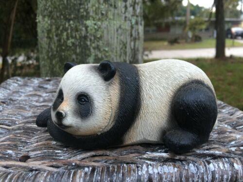 Gorgeous Vintage Highly Detailed Panda Bear figurine Lovely