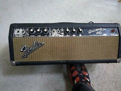 1966 Fender Bassman Blackface, usado segunda mano  Embacar hacia Mexico