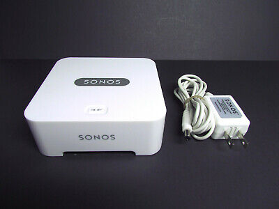Sonos BRIDGE Wireless HiFi System, Color White, with Power Adapter