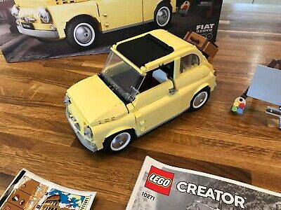 Lego Creator Expert Fiat 500 10271 With Box & Spares