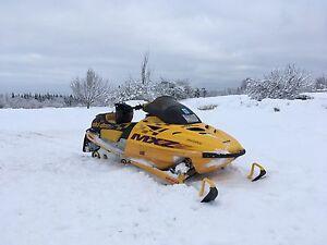 1996 Ski Doo MXZ 670