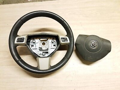 VAUXHALL ASTRA TWINTOP 2DR MULTIFUNCTION STEERING WHEEL+AIRBAG 13234176
