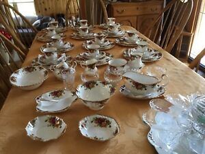 Old country roses dishes for sale