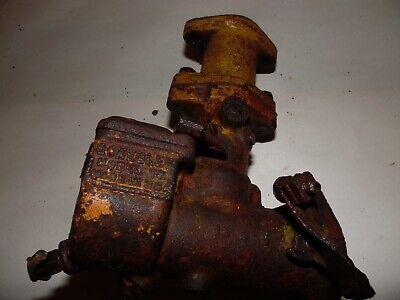Minneapolis Moline U Farm Tractor Carburetor As-is