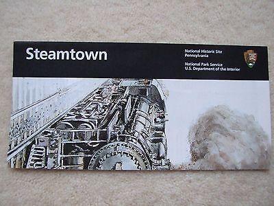 Steamtown National Park  Brochure Centennial3 Passport Stamps Railroads Coal