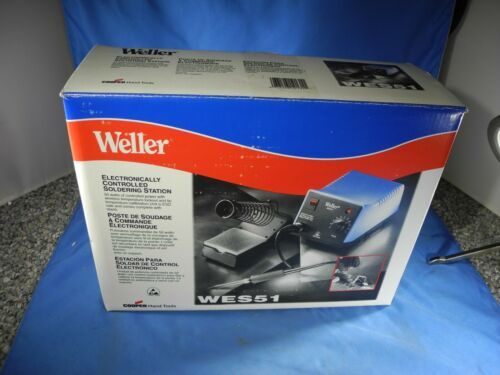 Weller WES51 Analog Soldering Station with PES51 Iron and Stand