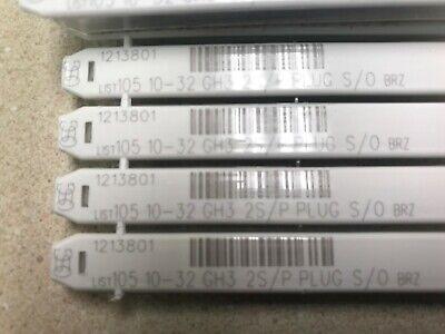 10-32 2 Flute Spiral Point Taps Black Osg 1213801 - New