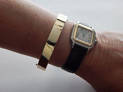 BEAUTIFUL Vintage Tiffany & Co. 14K Yellow Gold Oval Bangle Bracelet