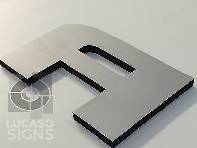Storefront Custom Foam Sign Letters 12 Inch Acrylic Faces Outdoor Economic