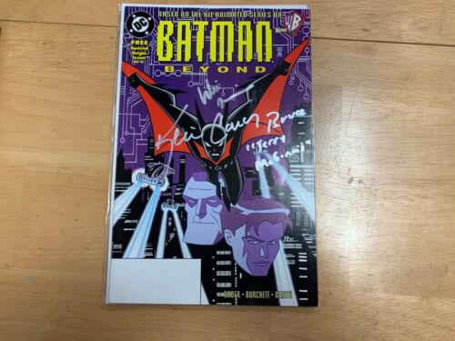 Batman Beyond Signed Comic #1 by Kevin Conroy & Will Friedle Autograph