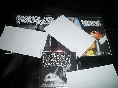 3 CD LOT Gore Grind - DISCARDEDDISEASEDLIMBS -SewageNoise FREESHIPPING - $5.99