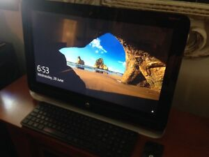"""23"""" hp pavilion all in one touch screen"""