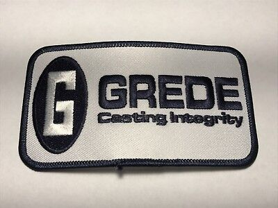 Grede Casting Integrity Company Logo American Axle Manufacturing Sew Patch G