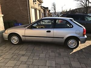 1998 Honda Civic CX Hatchback 88,411 original km