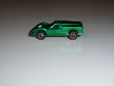 HOT WHEELS REDLINE 1968 U.S. FORD J-CAR GREEN VG CONDITION