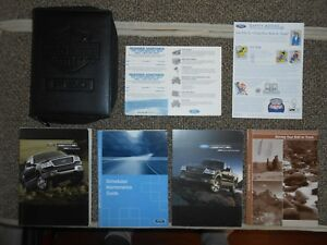 Ford F Owners Manual Set Guide  W Case Xlt Lariat