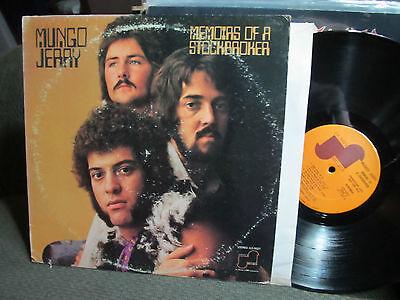 MUNGO JERRY MEMOIRS OF A STOCKBROKER RARE JANUS LP 1973 PROMO orig vinyl!!