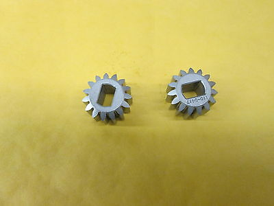 OEM TORO (SET OF 2) PINION GEARS FOR 30