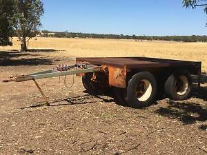 Tandem Dolly with 3m Tray / Pig Trailer / Flat Deck Semi Trailer Wongan Hills Wongan-Ballidu Area Preview