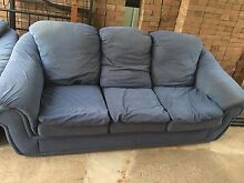 Blu 5 seater lounge St Marys Penrith Area Preview