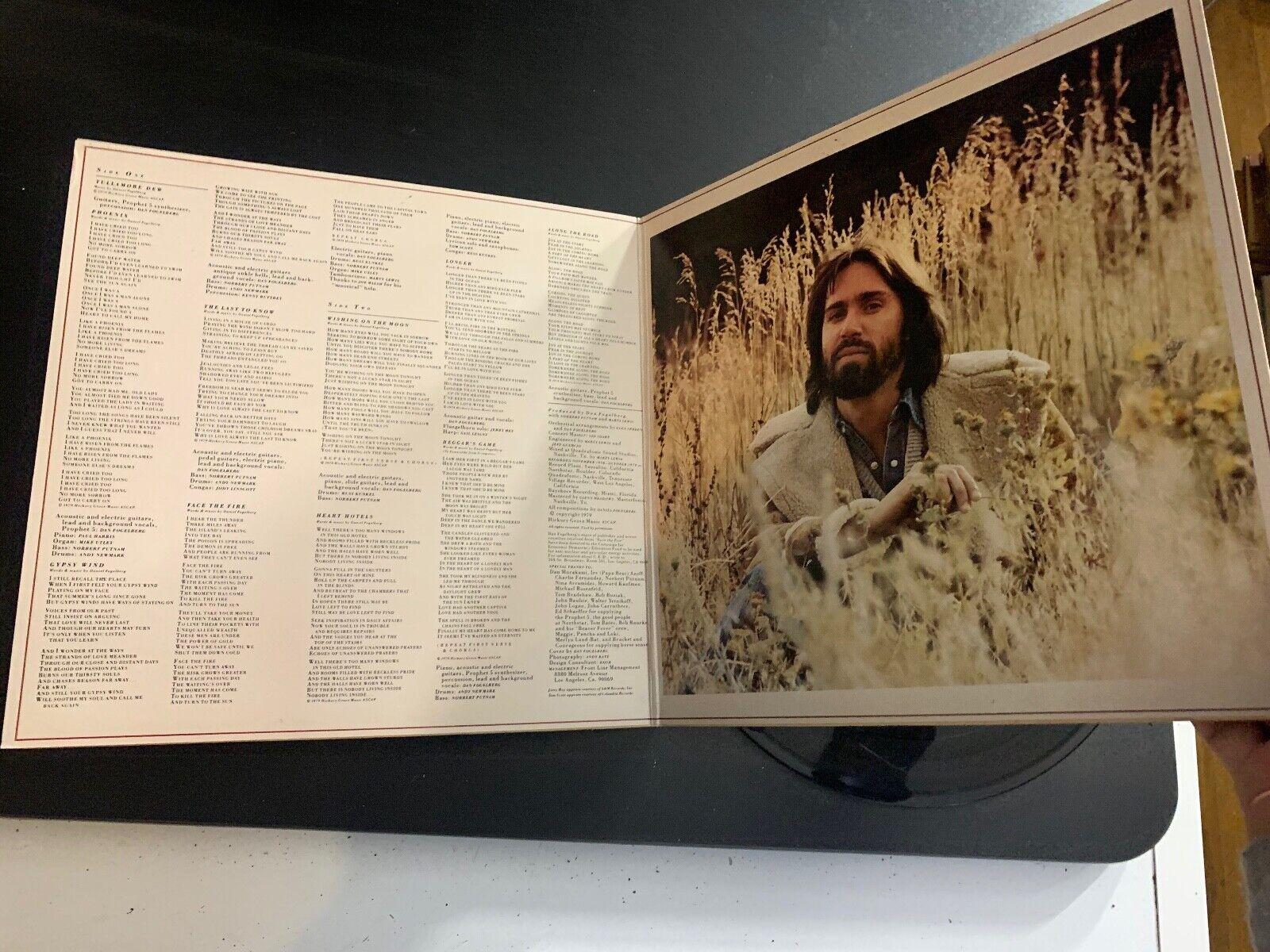 LP RECORD - DAN FOGELBERG - PHOENIX - EPIC RECORDS - $9.99
