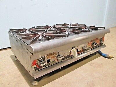 Champion Heavy Duty Commercial Natural Gas Counter-top 6 Burners Stoverange