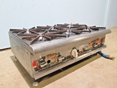 """champion"" Heavy Duty Commercial Natural Gas Counter-top 6 Burners Stove/range"
