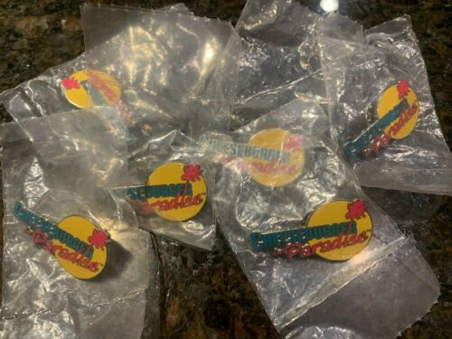 Cheeseburger in Paradise PIN Margaritaville Jimmy Buffet (NEW in PACKAGE)