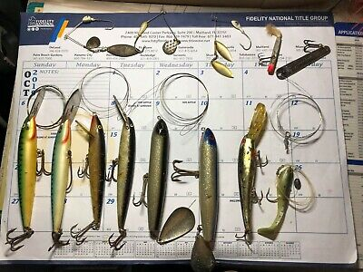 jeros Tackle F-4 Feather Prêt Rig Trolling thon marlin Wahoo voilier 4 oz environ 113.40 g